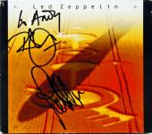 Rober Plant & John Paul Jones Led Zeppelin Signed 4 CD Box Set PSA/DNA