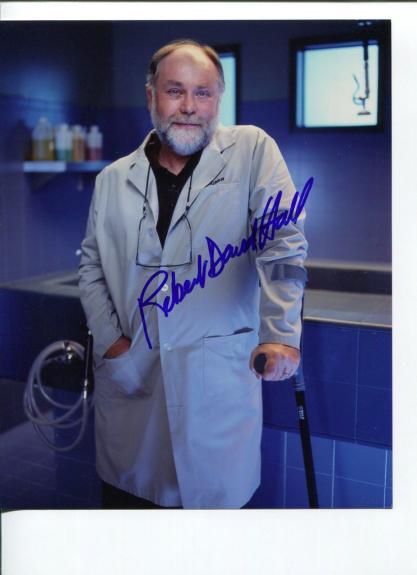 Robert David Hall CSI: Crime Scene Investigation G.I. Joe Signed Autograph Photo