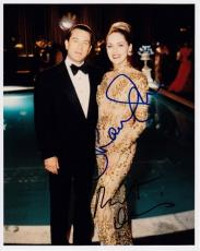 Robert De Niro and Sharon Stone Signed - Autographed CASINO 8x10 Photo