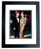 Robert De Niro and Sharon Stone Signed - Autographed CASINO 8x10 inch Photo BLACK CUSTOM FRAME - Guaranteed to pass PSA or JSA