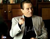 "Robert De Niro Autographed 11"" x 14"" Analyze That Pointing Finger Photograph With Silver Ink - PSA/DNA COA"