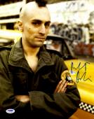 "Robert De Niro Autographed 11"" x 14"" Arms Crossed  Taxi Driver With Mohawk Photograph - PSA/DNA COA"