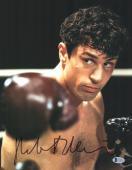 """Robert De Niro Autographed 11"""" x 14"""" Raging Bull Punching Photograph 1 - BAS COA"""