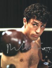 """Robert De Niro Autographed 11"""" x 14"""" Raging Bull Punching Photograph 2 - BAS COA"""