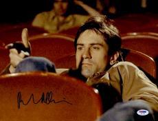 "Robert De Niro Autographed 11"" x 14"" Taxi Driver Sitting in Movie Theater Photograph - PSA/DNA COA"