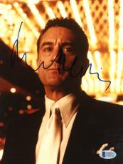 """Robert De Niro Autographed 8""""x 10"""" Casino Standing Under Lights Photograph - Beckett COA"""