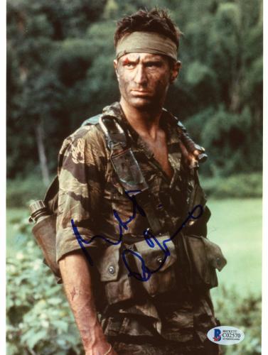 "Robert De Niro Autographed 8""x 10"" The Deer Hunter Wearing Camouflage Photograph - Beckett COA"