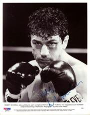 Robert De Niro Autographed Signed 8x10 Photo Raging Bull PSA/DNA #Q90490