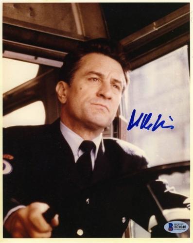 Robert De Niro Bronx Tale Autographed Signed 8x10 Photo Certified BAS COA AFTAL