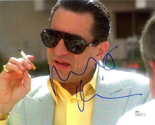 Robert De Niro Casino Autographed Signed 8x10 Photo Certified Authentic JSA COA