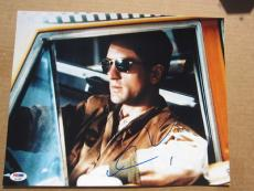 Robert De Niro DeNiro signed 11x14 photo Taxi Driver PSA/DNA autograph