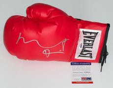 Robert De Niro Raging Bull Signed Everlast Boxing Glove Psa Coa Aa68543