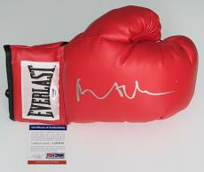 Robert De Niro Raging Bull Signed Everlast Boxing Glove Psa Coa Aa68544