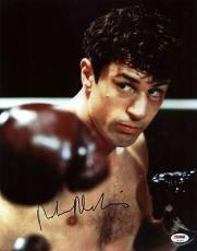 Robert De Niro Signed 11x14 Photo Raging Bull Psa/dna Gem Mint 10 #t53572