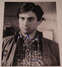 ROBERT De NIRO SIGNED 8X10 PHOTO AUTOGRAPH RAGING BULL TAXI DRIVER COA B