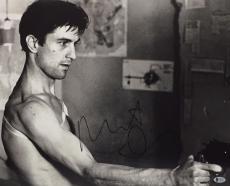 Robert De Niro Signed 'Taxi Driver' 16x20 Photo Beckett BAS