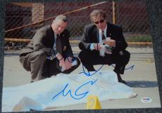 Robert Deniro & Al Pacino Signed Autograph Classic 11x14 Photo Psa/dna V04606