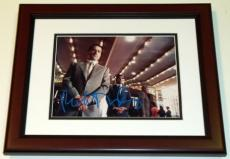 Robert DeNiro Autographed 8x10 CASINO Photo MAHOGANY CUSTOM FRAME
