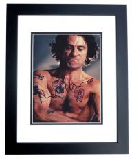 Robert DeNiro Autographed CAPE FEAR 8x10 Photo BLACK CUSTOM FRAME