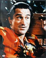 Robert Deniro Cape Fear Signed 16X20 Photo Autographed PSA/DNA #J00080