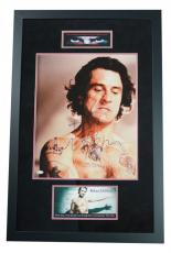 "ROBERT DeNIRO ""Cape Fear"" signed 16x20 photo custom framed display- JSA"
