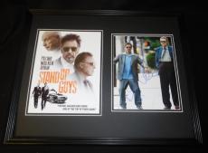 Al Pacino & Christopher Walken Dual Signed Framed 16x20 Photo Set AW