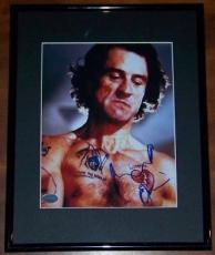 Robert Deniro Framed Signed Autographed 8x10 Photo PSA