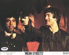 Robert Deniro Mean Streets Signed 8X10 Photo PSA/DNA #P43203