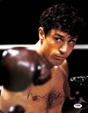 Robert Deniro Raging Bull Signed 11x14 Photo Psa/dna #u59119