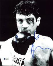 Robert Deniro Raging Bull Signed 8X10 Photo Autographed BAS #C57696