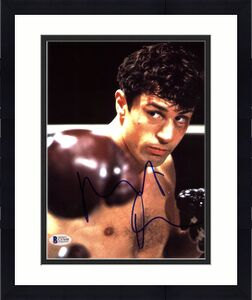 Robert Deniro Raging Bull Signed 8X10 Photo Autographed BAS #C57698
