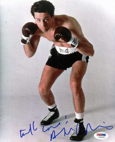 Robert Deniro Raging Bull Signed 8x10 Photo Autographed PSA/DNA Y62605