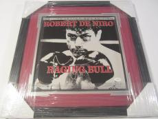 Robert Deniro Raging Bull Signed Authentic Autograph Record Jsa Coa Framed
