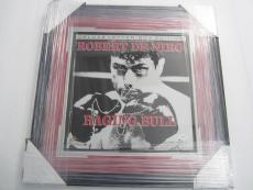 Robert DeNiro Raging Bull signed autographed framed matted laser disk JSA COA