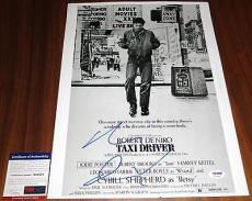 Robert DeNiro Signed 12x16 Taxi Driver Travis Bickle You Talkin' to Me PSA/DNA