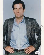 Robert Deniro Signed 8X10 Photo Autograph JSA #D84658