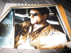 ROBERT DENIRO SIGNED AUTOGRAPH 8x10 PHOTO TAXI DRIVER PROMO IN PERSON COA RARE L