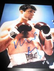ROBERT DENIRO SIGNED AUTOGRAPH 8x10 RAGING BULL PROMO IN PERSON COA AUTO RARE J
