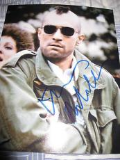 ROBERT DENIRO SIGNED AUTOGRAPH 8x10 TAXI DRIVER IN PERSON COA AUTO RARE PROMO