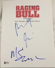 "Robert Deniro Signed Autograph ""raging Bull"" Full Movie Script Bas Beckett Coa"