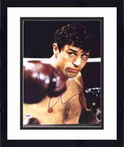 "Robert Deniro Signed Autograph ""raging Bull"" Poster 11x14 Photo Psa/dna W58929"