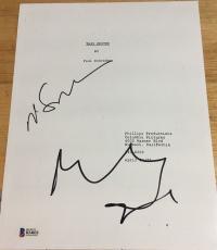 """Robert Deniro & Martin Scorsese Signed Autograph Rare """"taxi Driver"""" Movie Script"""