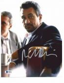 "ROBERT DENIRO signed autographed ""HEAT"" 8x10 PHOTO BECKETT COA (BAS) FULL NAME!"