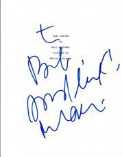 Robert DeNiro Signed Autographed TAXI DRIVER Full Movie Script COA VD