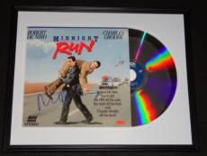 Robert Deniro Signed Framed 1989 Midnight Run Laserdisc Display JSA De Niro