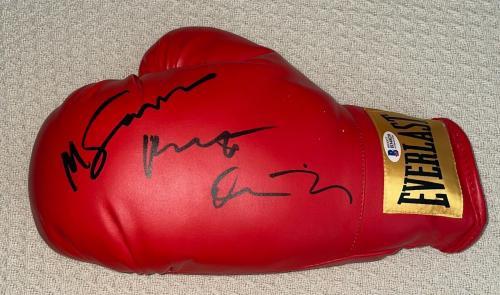 "Robert Deniro Signed Full Autograph ""raging Bull"" Boxing Glove Exact Proof Bas"