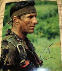 "Robert Deniro Signed Full Name Autograph ""the Deer Hunter"" Classic 11x14 Photo"