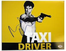 Robert Deniro Signed Taxi Driver Authentic 11x14 Photo (PSA/DNA) #Q43915