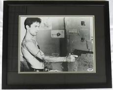 Robert Deniro Signed Taxi Driver Autographed Framed 11x14 Photo PSA/DNA #F42159