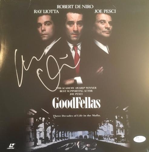 ROBERT DeNIRO signed/autographed GOODFELLAS Laser Disk -JSA Full Letter COA
